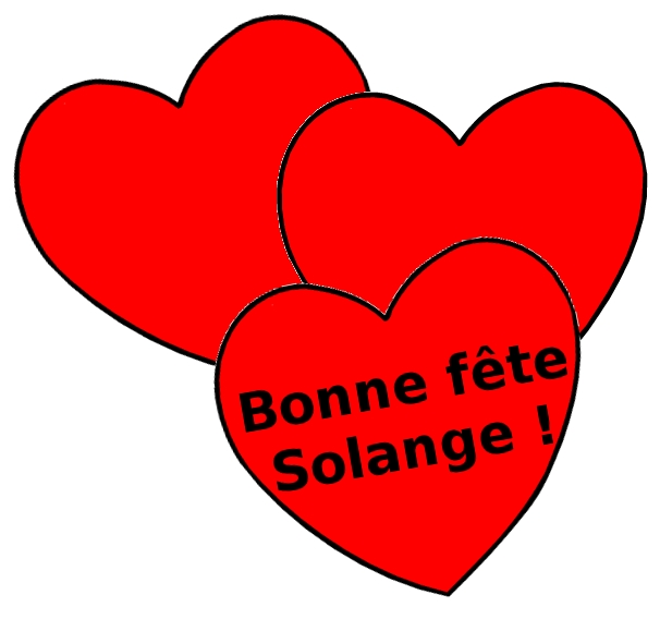 SOLANGE Sainte-solange