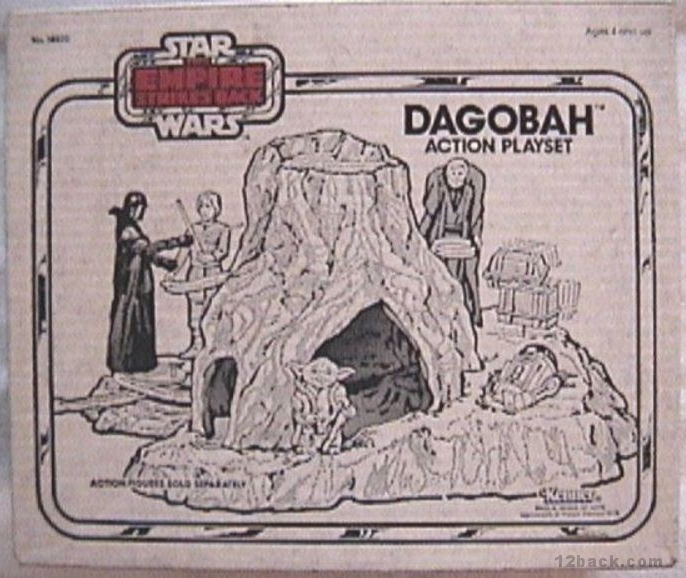 My Vintage Kenner Star Wars Blog! Dagobah-box2