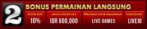 BONUS harian hingga IDR 600.000 Table5