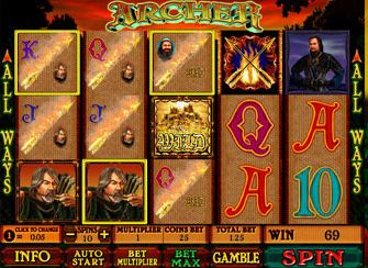 Game Slots ARCHER 12BET Casino 12BET-Casino-Archer-All-Ways-Feature