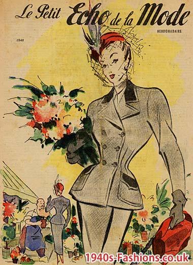 istorija - Istorija modnog dizajna Ladies-suit-with-hat