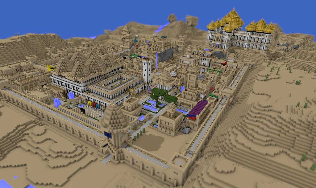 minecraft c'est quoi? Minecraft-ville