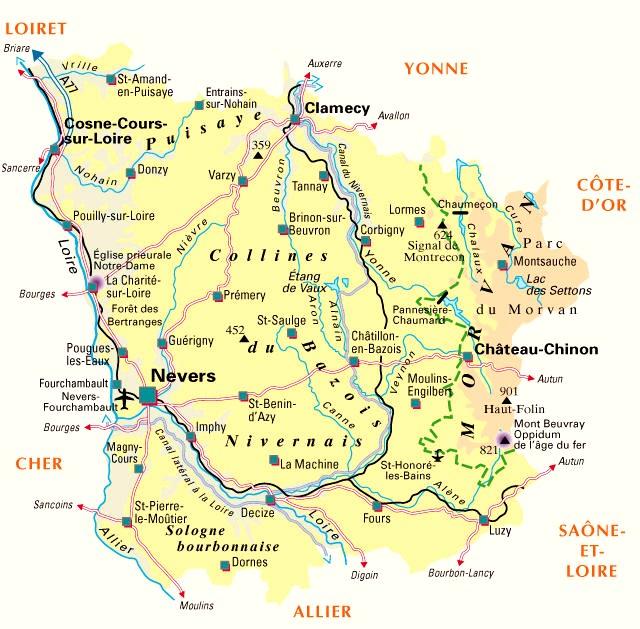 Ovni dans la Nièvre 58-nievre