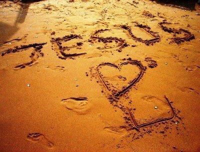 Overwhelmed? Jesus-loves-you-written-in-the-sand