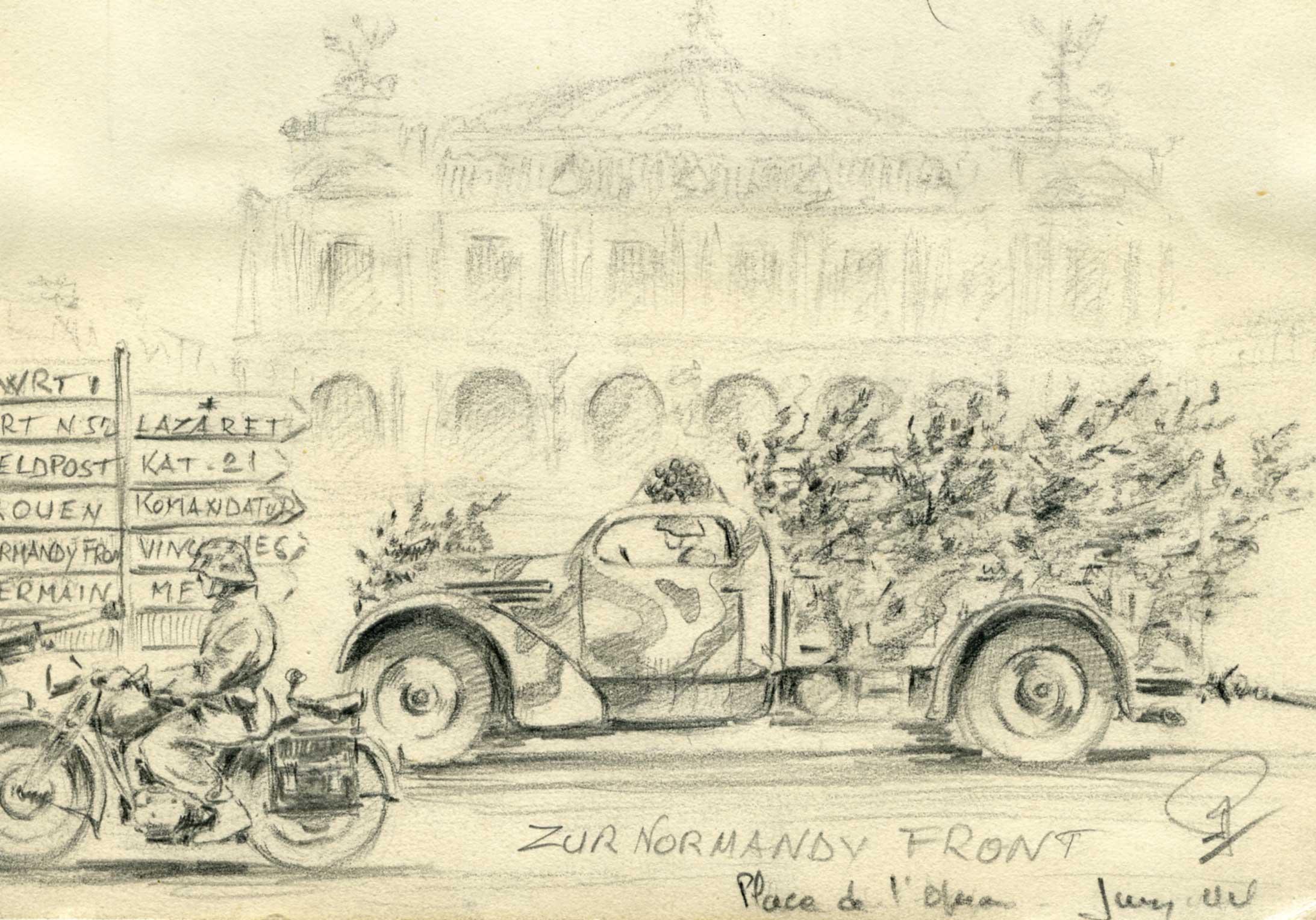 Exposition Carnet de Guerre de Rob Roy - Paris - Mairie du 14éme 3zvhzlgd88