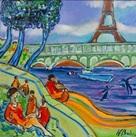 Exposition : Le Paris poétique et coloré de Jean-François Brahin 486e08qz5s