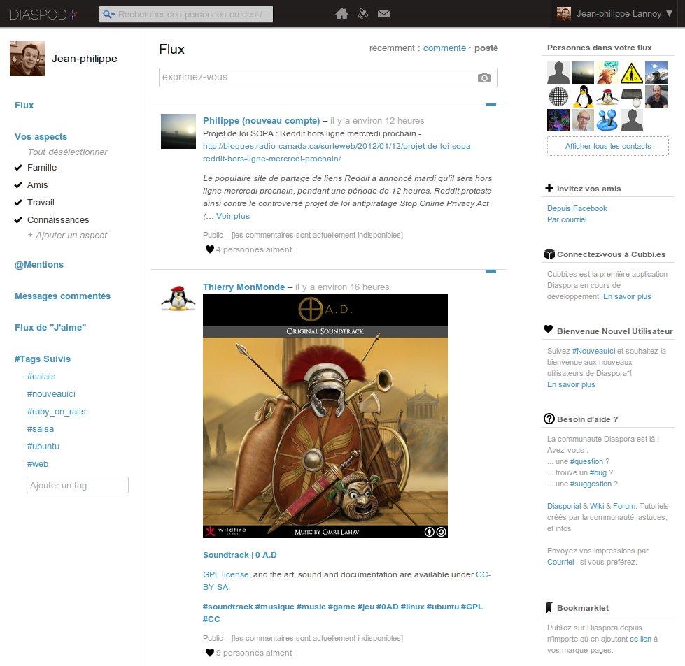 Réseaux sociaux : Diaspora, un facebook respectueux de la vie privée 7hdo0wpul5