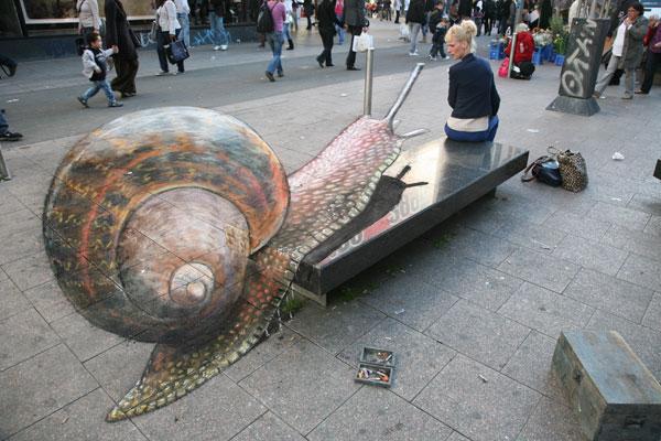 Arte callejero.  - Página 5 Snail-i