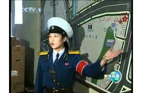 Important State Business: Chinese Official Meets With Pyongyang Traffic Girls DPRK-Traffic-Girl-11