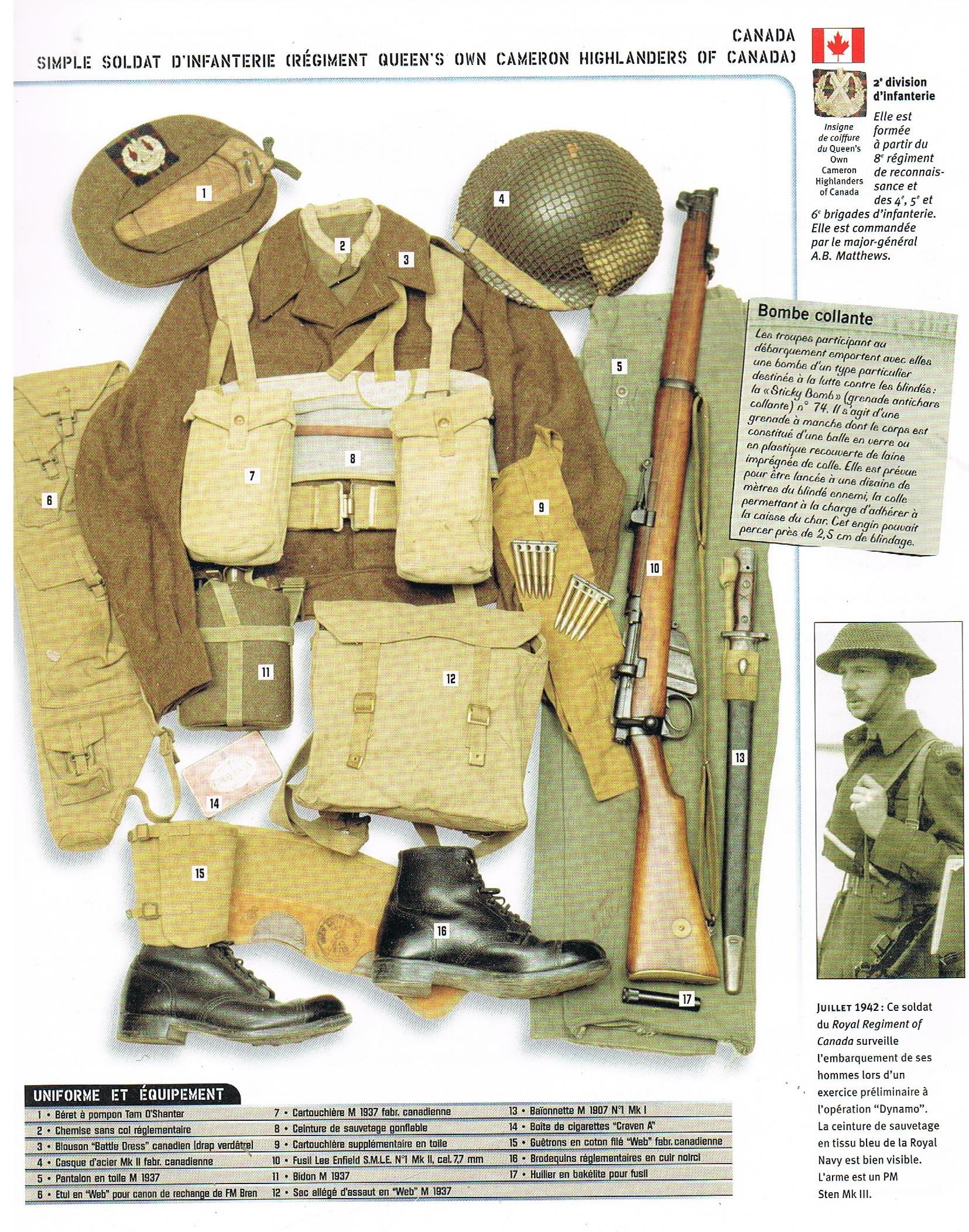 L'Armée Canadienne dans la Seconde Guerre Mondiale 2494_002