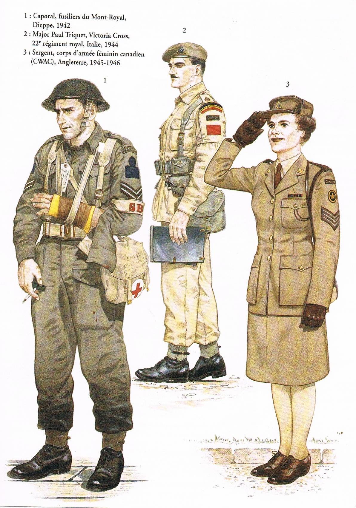 L'Armée Canadienne dans la Seconde Guerre Mondiale 2494_003