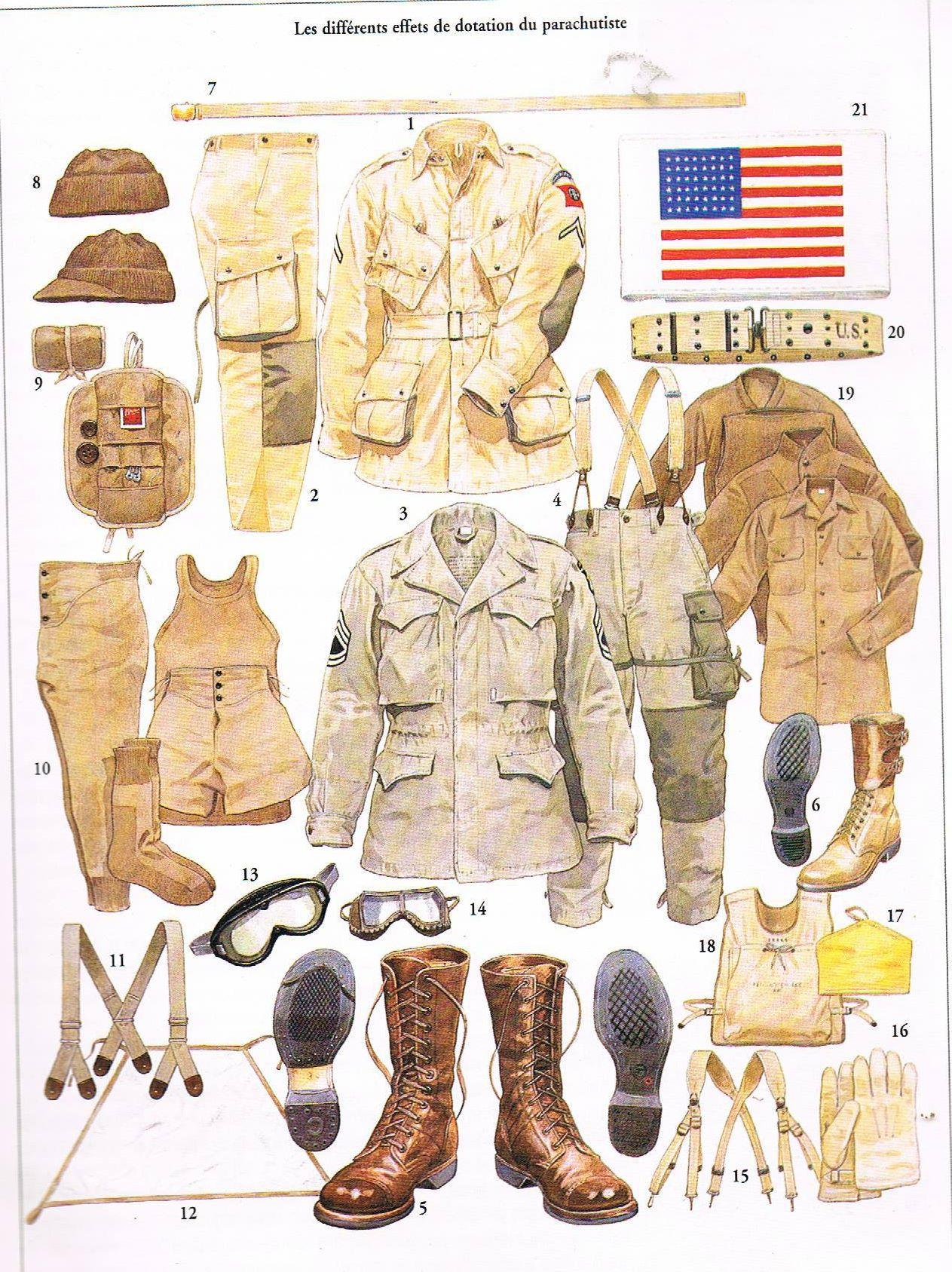 Troupes aéroportées américaines : Notions générales  2494_1146953_216949611796408_874164870_o