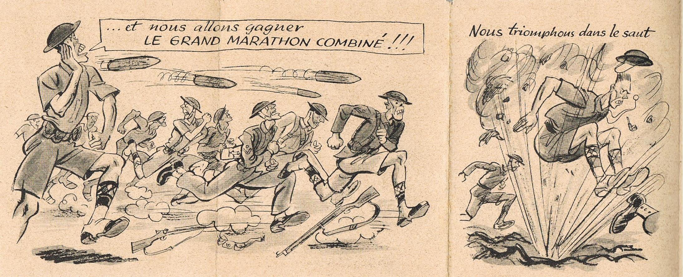 "Propagande Vichyste anti anglaise :"" Olympiades""  2494_OLYMPIADE4"