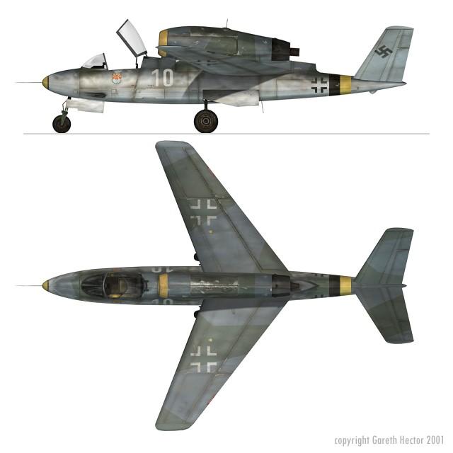 Luftwaffe 46 et autres projets de l'axe à toutes les échelles(Bf 109 G10 erla luft46). - Page 2 Heinkel_He_162_D