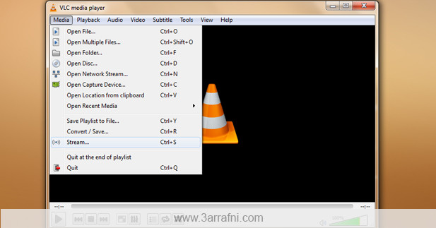 5 خصائص  فى برنامج VLC Stream-617x323