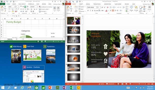 موضوع شامل عن مميزات windows 10 الجديد %D8%AE%D8%A7%D8%B5%D9%8A%D9%87-%D8%A7%D9%84%D8%B9%D8%B1%D8%B6-Snap-View-%D9%81%D9%8A-windows-10