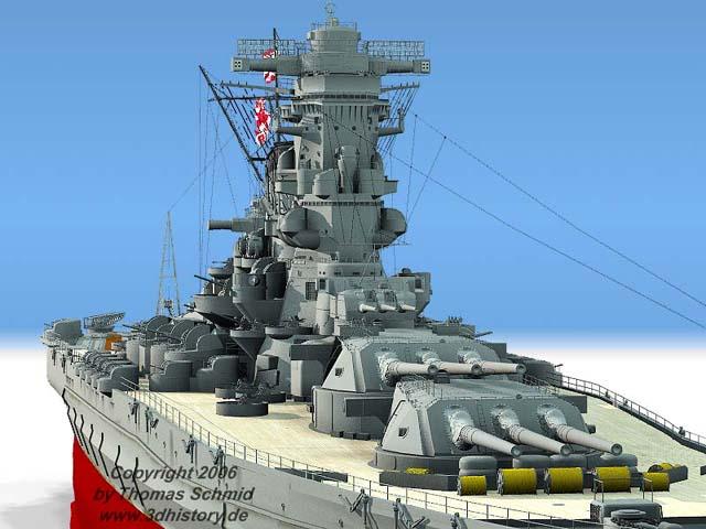Les grands cuirassés de la WWII - Page 2 Yamato_complete03std%20rad%20fake03_1_008