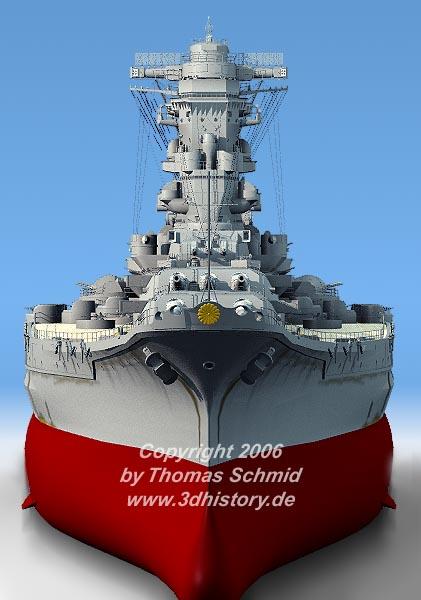 Les grands cuirassés de la WWII - Page 2 Yamato_complete03std%20rad%20fake03_1_015
