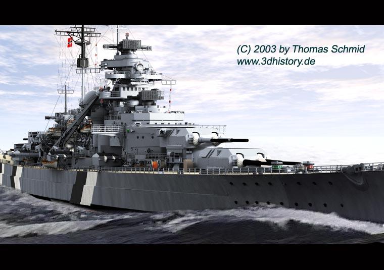 Les grands cuirassés de la WWII - Page 2 Bismarck-titel