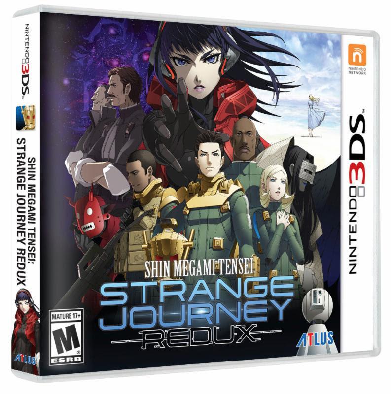 Shin Megami Tensei Strange Journey Redux llegará a 3DS el 18 de mayo Shin_megami_tensei_deep_strange_journey-3929605