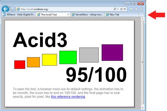 Представлен релиз-кандидат браузера Internet Explorer 9 Ie9rc-2