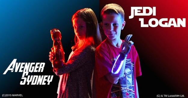 Disney и Open Bionics займутся разработкой стилизованных детских протезов Bionics-marvel-star-wars-625x326-1