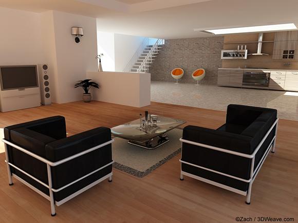 ديكورات  ثري دي  2013  3D Decoration-interieure-en-3d