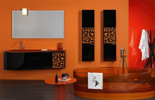ديكورات باللون البرتقالي 01358516745
