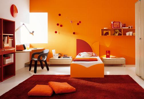 ديكورات باللون البرتقالي 11358516634