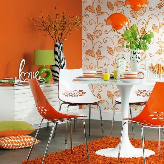 ديكورات باللون البرتقالي 21358516554