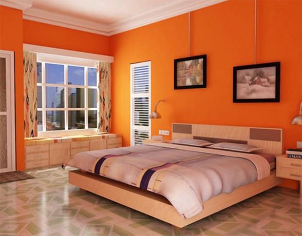 ديكورات باللون البرتقالي 31358516634
