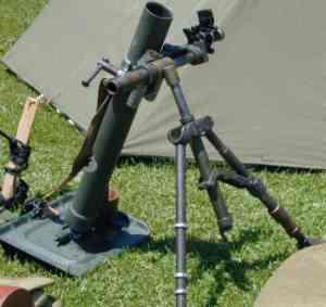 الجيش الملكي المغربي من الالف الى الياء 60mm_Mortar_display