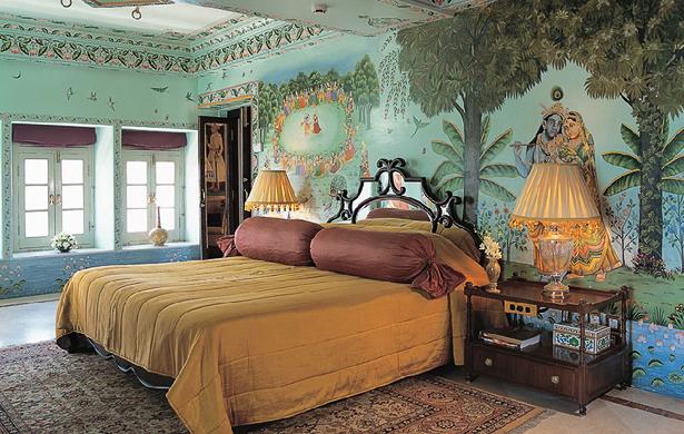 Super moderne vile na vodi Taj-Lake-Palace-Udaipur