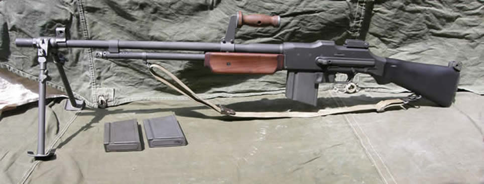 mod idea for FO4: Automatic Hunting Rifle M1918bar