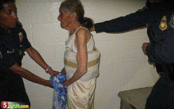 اغرب ما ممكن تشوف ـ امراة 95 سنة تهرب مخدرات 12776092713