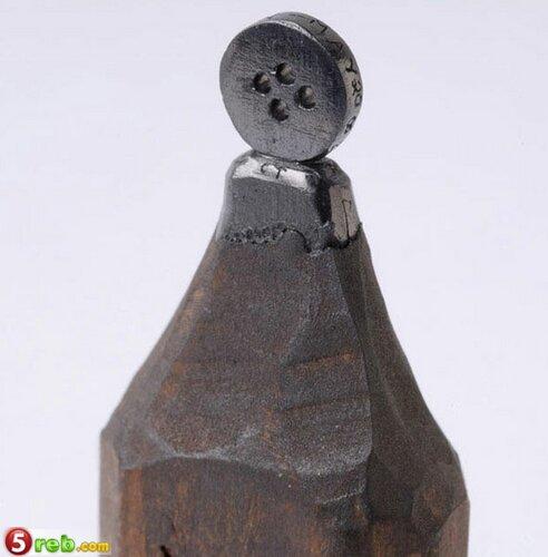 اعمال على رؤوس اقلام الرصاص Pencilleadsculptures-11