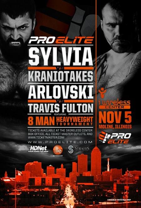 Tim Sylvia y Andrei Arlovski vencen en el Pro Elite 2  ProEliteSylviaArlovskiPoster2