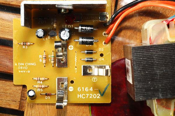 Chargeur visseuse Hitachi fusible interne qui saute Uc9sc3