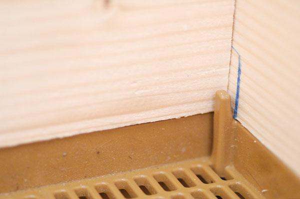 Construction d'un corps de ruche Dadant 10 cadres Cr_21