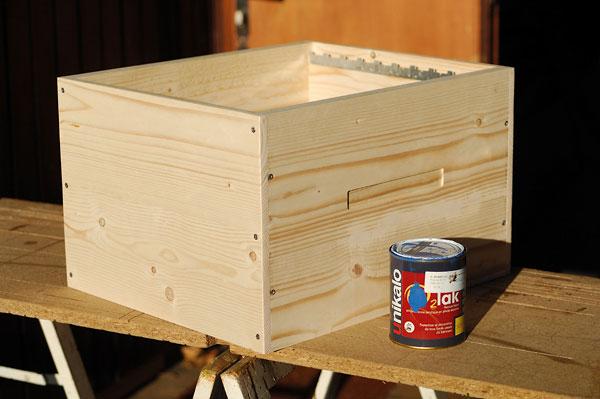 Construction d'un corps de ruche Dadant 10 cadres Cr_45