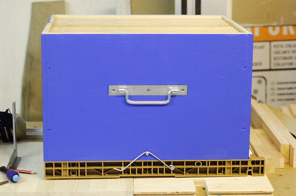 Construction d'un corps de ruche Dadant 10 cadres Cr_52
