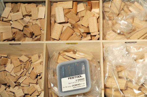 Festool Domino Df 500, extrait Domino10
