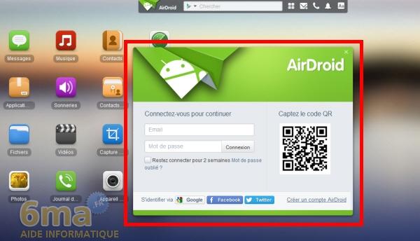 [TUTO] AirDroid : Comment transférer des fichiers de son PC vers son smartphone ou sa tablette en WiFi [25.09.2013] Airdroid2_01