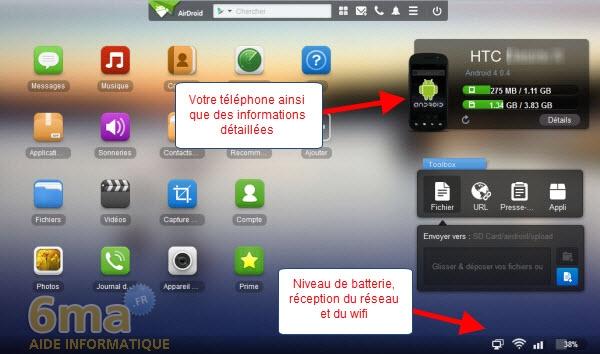 [TUTO] AirDroid : Comment transférer des fichiers de son PC vers son smartphone ou sa tablette en WiFi [25.09.2013] Airdroid2_02