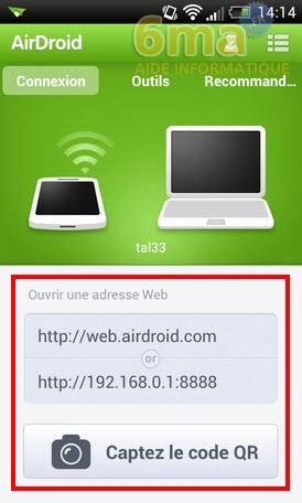 [TUTO] AirDroid : Comment transférer des fichiers de son PC vers son smartphone ou sa tablette en WiFi [25.09.2013] Airdroid2_22