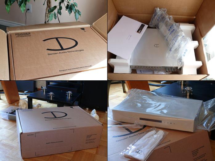 Mi nueva etapa DENSEN B320+ Boxes