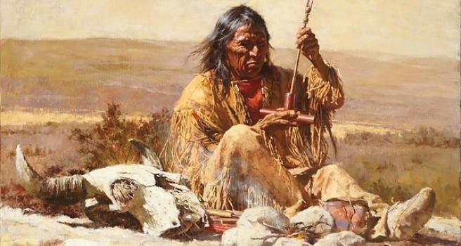 Medicina američkih indijanaca Terpning-seeking-wisdom-through-the-pipe