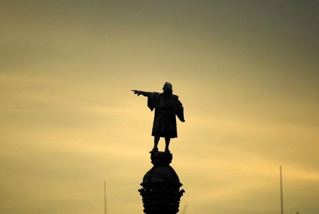Statue koje oduzimaju dah Kristofer%20Kolumbo%20u%20Barseloni