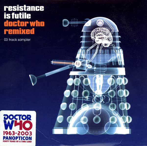 The United States of the Solar System, A.D. 2133 (Book Six) DrWho-ResistanceIsFutile-DoctorWhoRemixed-UK-CD-A