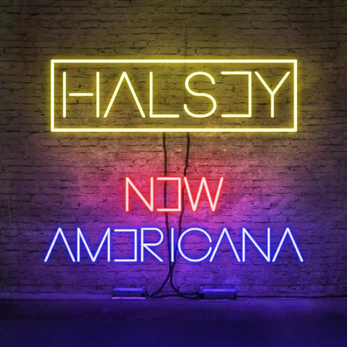 "Halsey >> álbum ""BADLANDS"" HALSEY_AMERICANA"